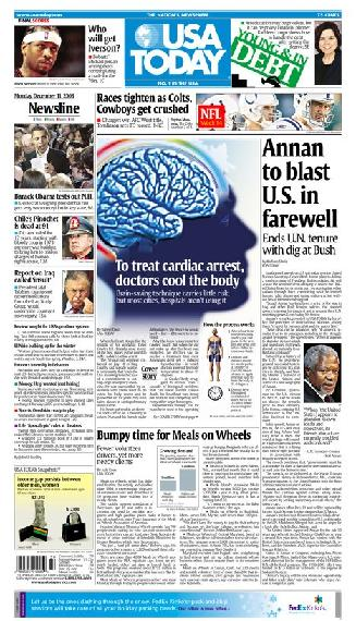 12/11/2006 Issue of USA TODAY