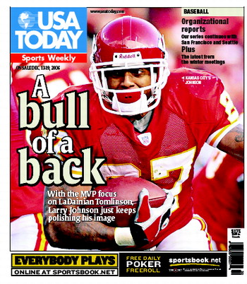 12/13/2006 Issue of Sports Weekly