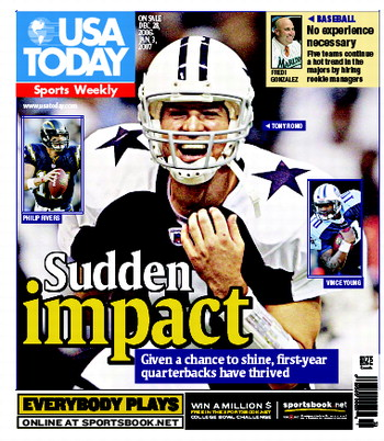 12/27/2006 Issue of Sports Weekly