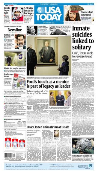 12/28/2006 Issue of USA TODAY