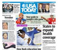 1/08/2007 Issue of USA TODAY