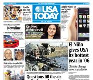1/10/2007 Issue of USA TODAY