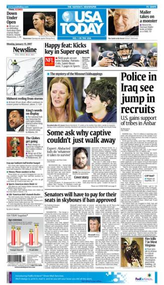 1/15/2007 Issue of USA TODAY