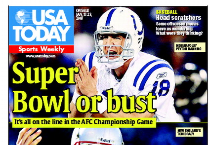 1/17/2007 Issue of Sports Weekly