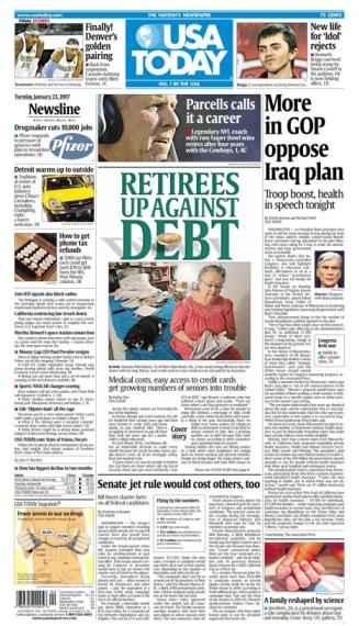 1/23/2007 Issue of USA TODAY