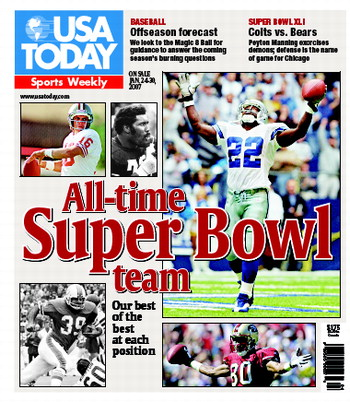 1/24/2007 Issue of Sports Weekly