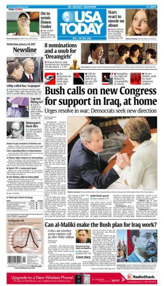 1/24/2007 Issue of USA TODAY