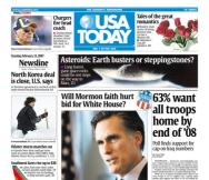 2/13/2007 Issue of USA TODAY