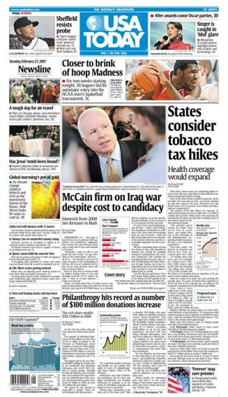 2/27/2007 Issue of USA TODAY