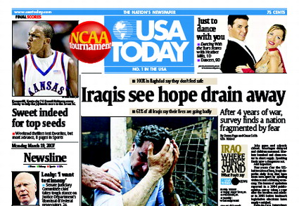 3/19/2007 Issue of USA TODAY