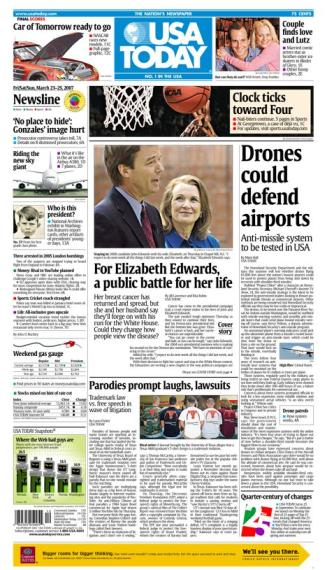 3/23/2007 Issue of USA TODAY