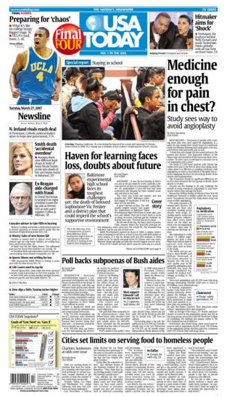 3/27/2007 Issue of USA TODAY