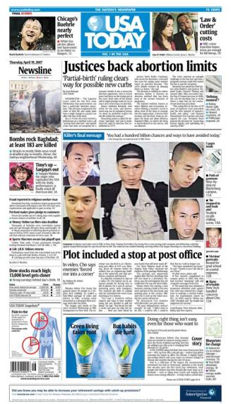 4/19/2007 Issue of USA TODAY