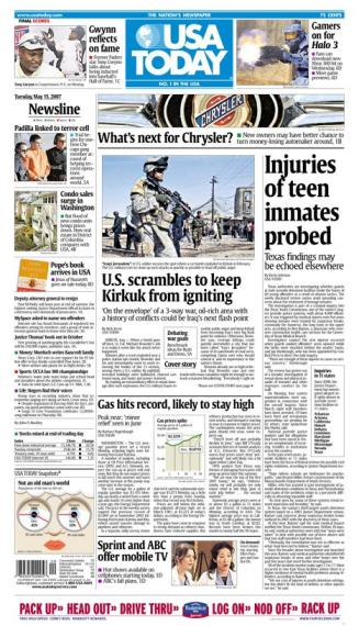 5/15/2007 Issue of USA TODAY