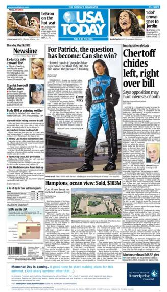 5/24/2007 Issue of USA TODAY