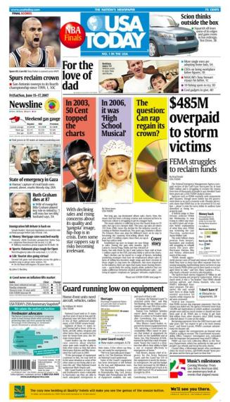 6/15/2007 Issue of USA TODAY