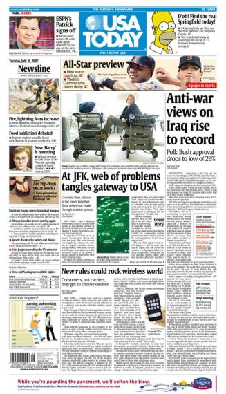 7/10/2007 Issue of USA TODAY