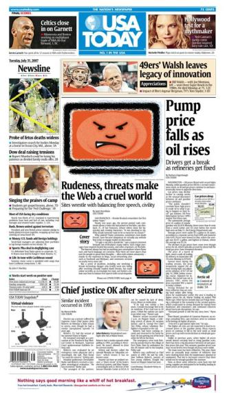 7/31/2007 Issue of USA TODAY