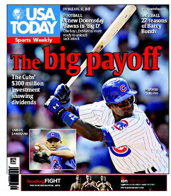 8/01/2007 Issue of Sports Weekly