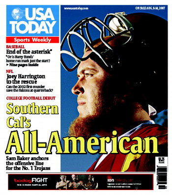 8/08/2007 Issue of Sports Weekly