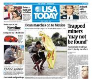 8/20/2007 Issue of USA TODAY