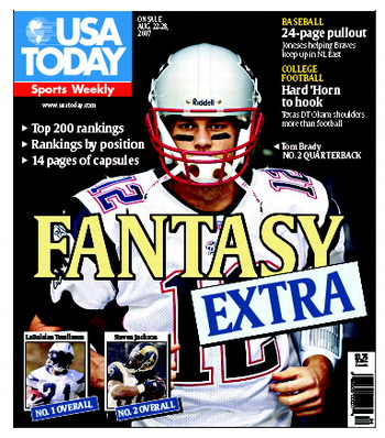 8/22/2007 Issue of Sports Weekly