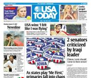 8/27/2007 Issue of USA TODAY