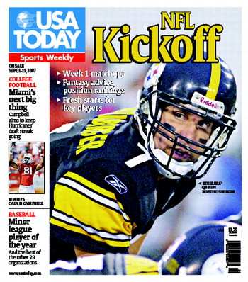 9/05/2007 Issue of Sports Weekly