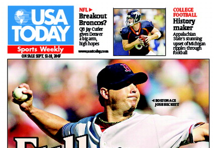 9/12/2007 Issue of Sports Weekly