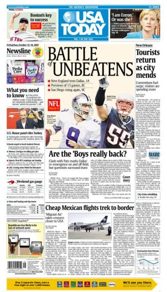 10/12/2007 Issue of USA TODAY
