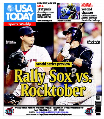 10/24/2007 Issue of Sports Weekly