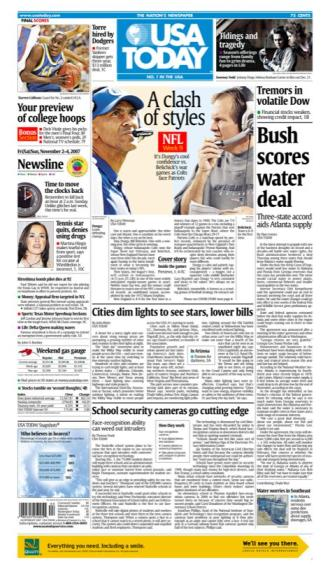 11/02/2007 Issue of USA TODAY