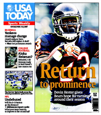 11/07/2007 Issue of Sports Weekly