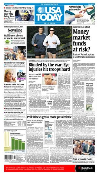 11/14/2007 Issue of USA TODAY