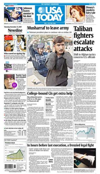 11/15/2007 Issue of USA TODAY