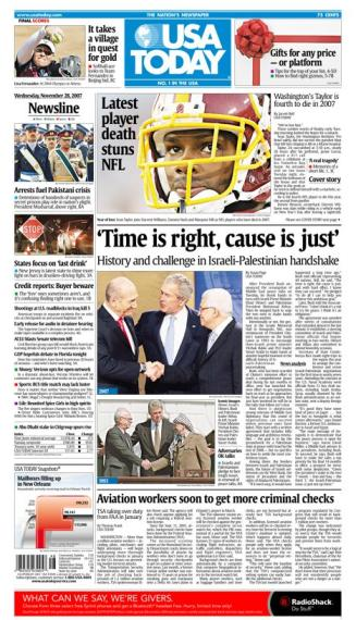 11/28/2007 Issue of USA TODAY