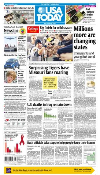 11/30/2007 Issue of USA TODAY