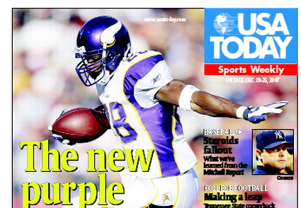 12/19/2007 Issue of Sports Weekly
