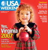 12/21/2007 Issue of USA Weekend