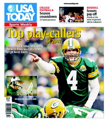 12/27/2007 Issue of Sports Weekly