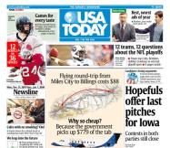 12/31/2007 Issue of USA TODAY