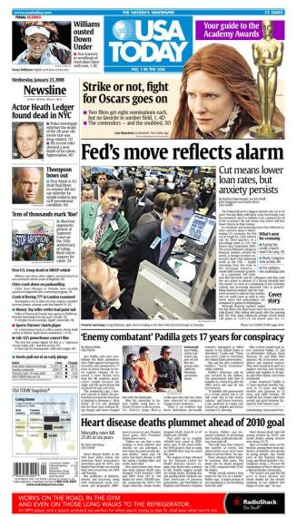 01/23/2008 Issue of USA TODAY