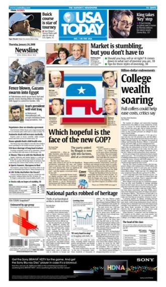01/24/2008 Issue of USA TODAY
