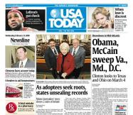 02/13/2008 Issue of USA TODAY