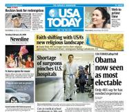 02/26/2008 Issue of USA Today