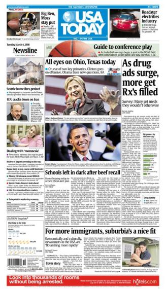 03/04/2008 Issue of USA Today