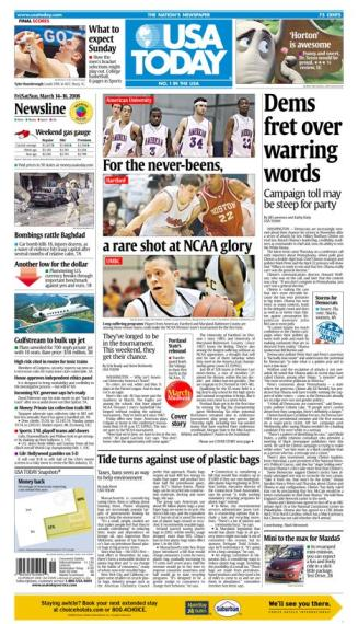 03/14/2008 Issue of USA Today
