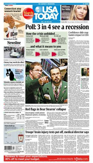 03/18/2008 Issue of USA Today