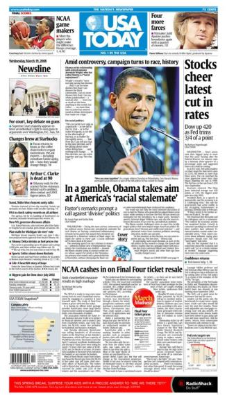 03/19/2008 Issue of USA Today