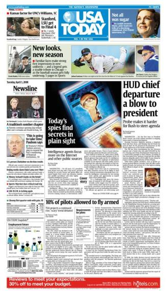 04/01/2008 Issue of USA Today